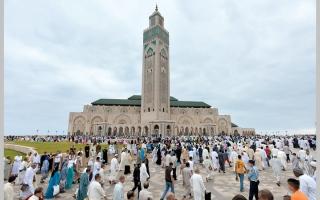 الصورة: بالفيديو.. «الحسن الثاني».. 20 ألف متر مربع للصلاة والدعاء