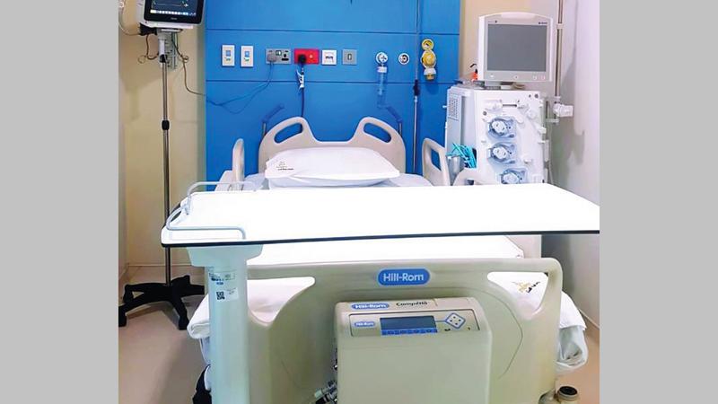 إجراء العمليات للمرضى ومباشرة علاجهم سيتم في مستشفى ميديكلينيك المدينة في دبي.  من المصدر