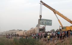 الصورة: الإمارات تتضامن مع مصر في حادث قطار القليوبية