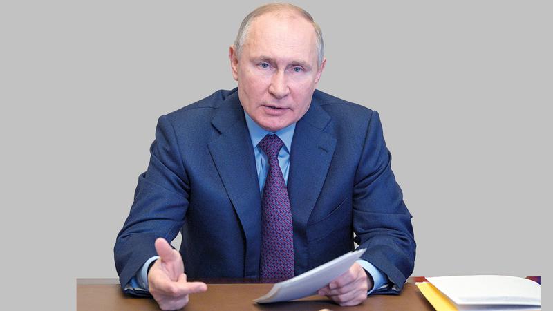 فلاديمير بوتين.  أرشيفية