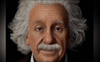 الصورة: «آينشتاين رقمي» يجيب عن أسئلة نظريات الفيزياء