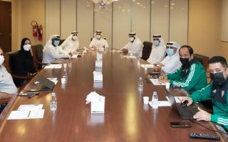 """الصورة: لجنة الحكام تعقد اجتماعها الأول بتشكيلها الجديد وتقرر استمرار العمل بخطة """"2020 - 2024"""""""