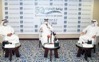 الصورة: «الهيئة» ترفع خطة الـ 50 لرياضة الإمارات إلى الجهات العليا