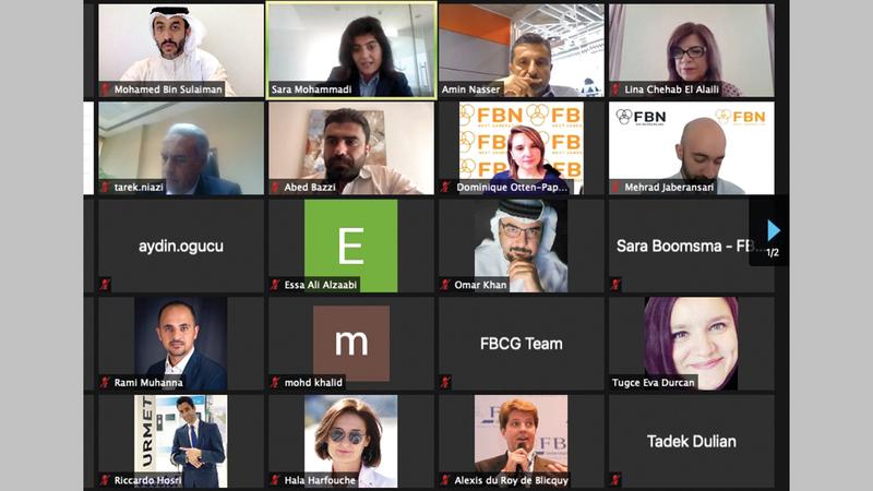خلال ندوة افتراضية نظمتها «الغرفة» حول ديناميكيات الشركات العائلية والخلافات وتأثيراتها في الشركات.    من المصدر