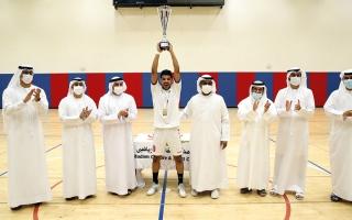 الصورة: شباب الشارقة بطلاً لكأس الإمارات لكرة اليد