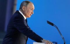 """الصورة: بوتين يتطلع إلى مناعة جماعية ضد """"كورونا"""" في الخريف"""