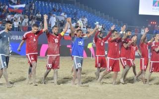الصورة: منتخب الإمارات للكرة الشاطئية يُشارك في مونديال 2021