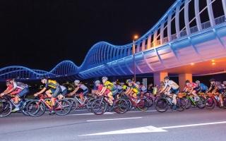 الصورة: سباق الدراجات الهوائية لدورة ند الشبا اليوم