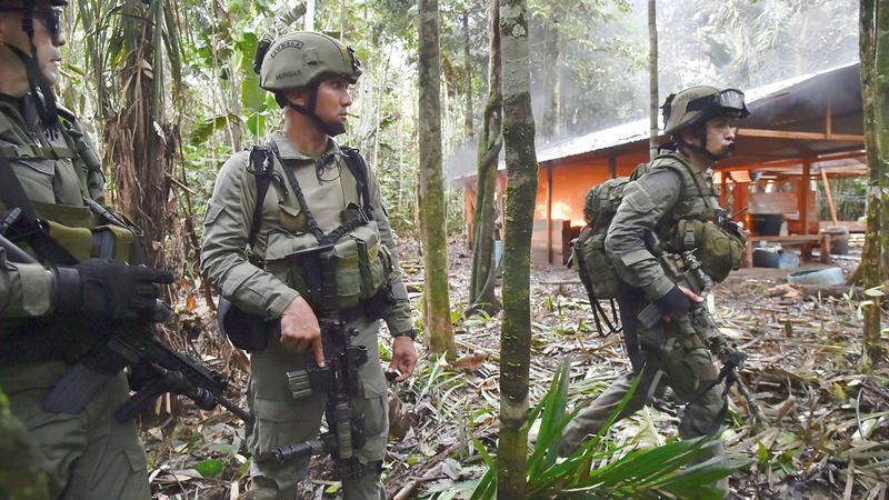 مكافحة عصابات المخدّرات مهمة شاقة في كولومبيا.   أرشيفية