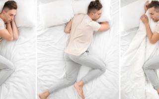 الصورة: طبيب أمراض عصبية يكشف عن أفضل وضعية للنوم