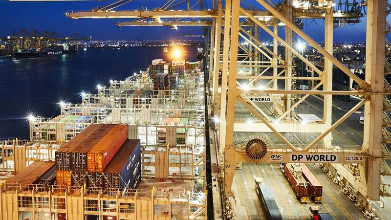 محطات الحاويات التابعة لـ«موانئ دبي العالمية» شهدت بداية قوية عام 2021.   من المصدر