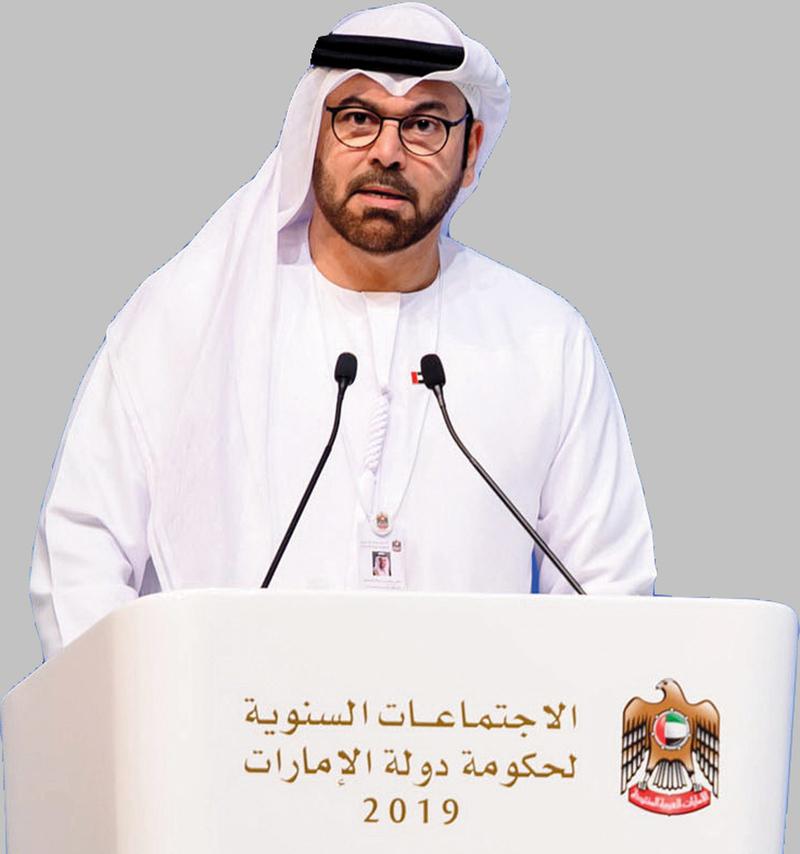 وزير شؤون مجلس الوزراء الأمين العام لمبادرات محمد بن راشد آل مكتوم العالمية، محمد بن عبدالله القرقاوي.