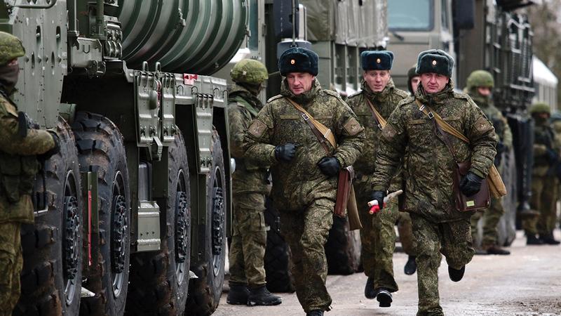 حشد قوات روسية كبيرة في حرب على أوكرانيا يهدد مصالح روسيا الأخرى.   أرشيفية