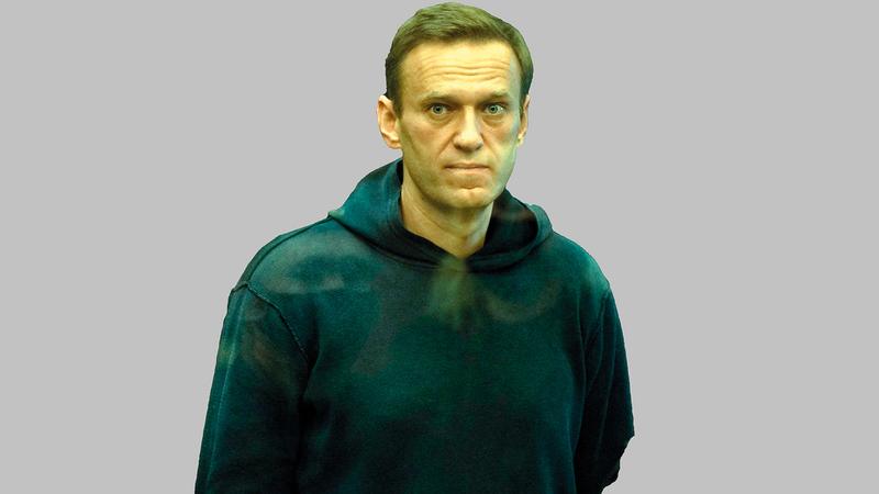 المعارض الروسي أليكسي نافالني أعلن إنهاء إضرابه عن الطعام.   أ.ف.ب