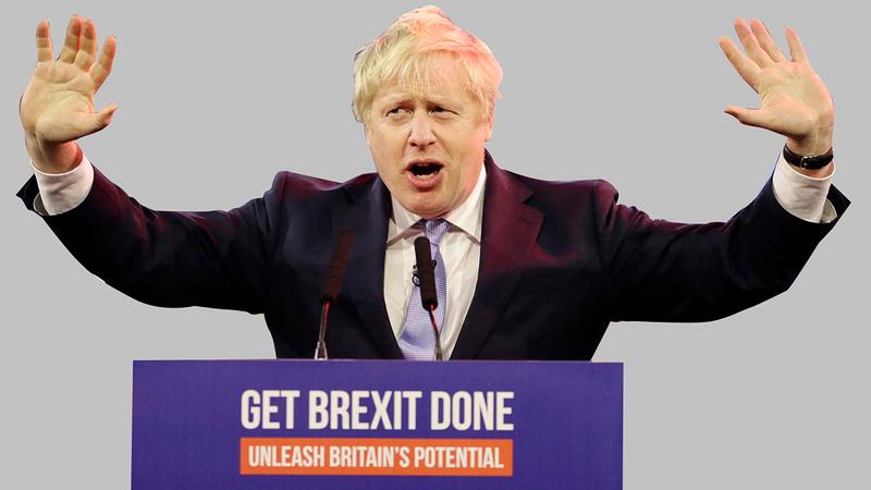 جونسون أصرّ على خروج بلاده من الكيان الأوروبي.   أرشيفية