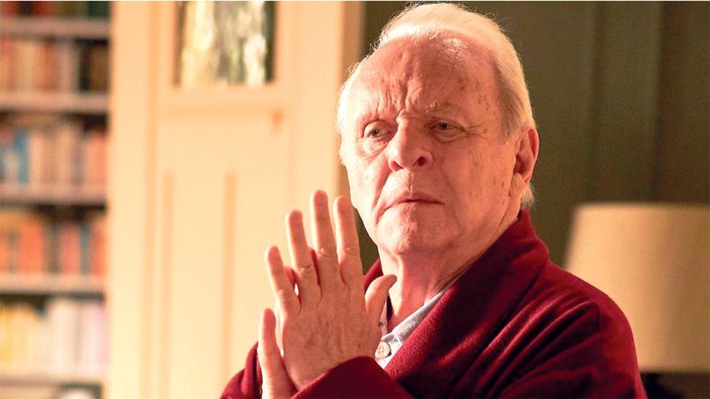 هوبكينز البالغ 83 عاماً الذي غاب عن احتفال توزيع الجوائز أصبح أكبر الممثلين سناً الذي يفوز بجائزة أوسكار. أرشيفية