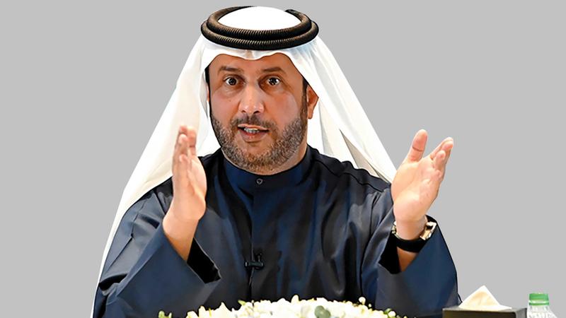 أحمد بن شعفار: «نظام تبريد المناطق يتميز بقدرته على خدمة آلاف المتعاملين في مناطق عدة تخدمها محطة تبريد واحدة».