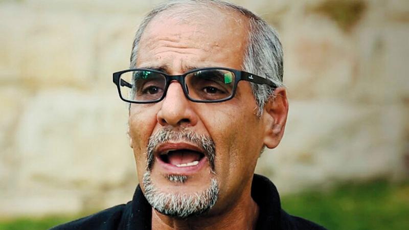 الباحث في شؤون مدينة القدس الشريف روبين أبوشمسية.   الإمارات اليوم