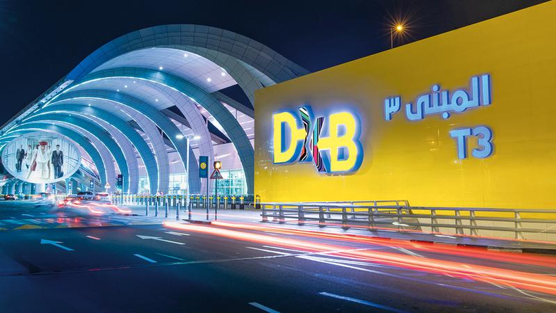 «دبي الدولي» خدم 63% من الوجهات في 89% من البلدان خلال الربع الأول.  ارشيفية