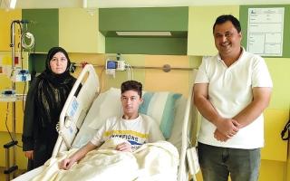 الصورة: «أموال محمد خليفة السويدي» تدعم «تبرعكم حياة» بمليون درهم