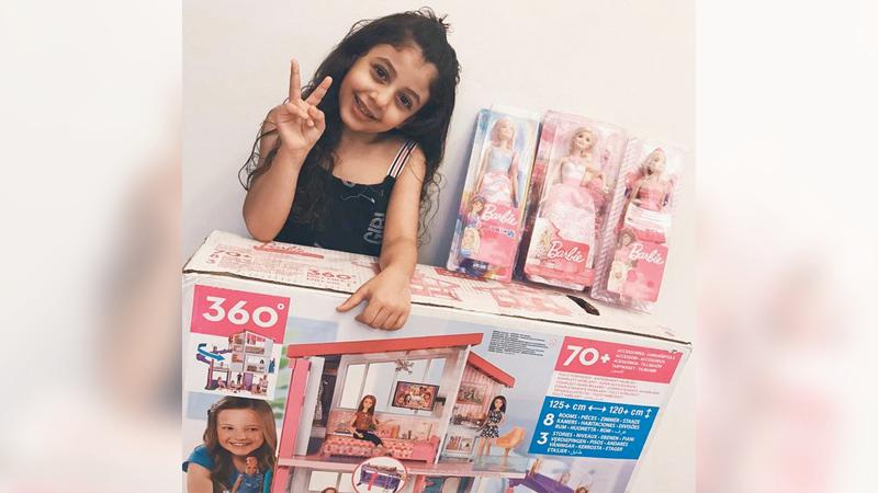 «تحقيق أمنية» تسعى للإسهام في نشر الفرح بقلوب كثير من الأطفال وأسرهم. من المصدر