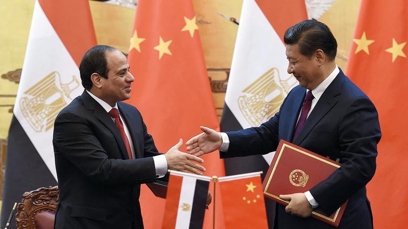 السيسي زار الصين 6 مرات ولم يزر أميركا سوى مرتين.  رويترز