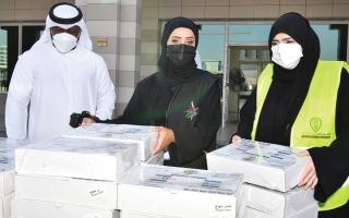 الصورة: «إقامة دبي» تشارك في «فطوركم بيوصلكم»