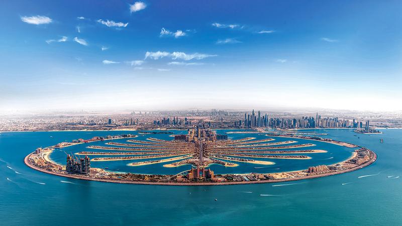 نفاد بين 90 و95% من الغرف المتاحة على «بوكينغ دوت كوم» في فنادق «نخلة جميرا» و«جميرا بيتش ريزيدنس» و«وسط مدينة دبي». أرشيفية
