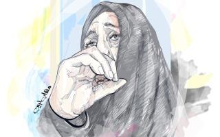 الصورة: «أم محمود» تعاني فشلاً كلوياً وتعجز عن تجديد بطاقتها الصحية
