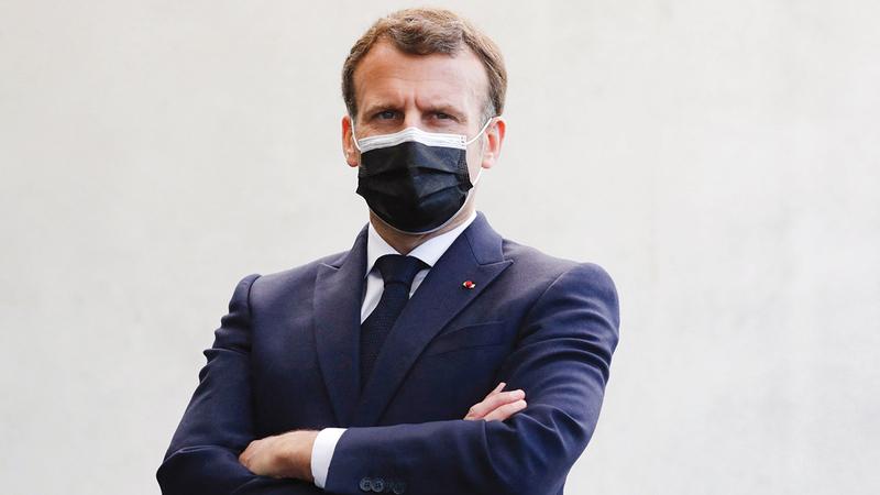 ماكرون يستعد لمعركة انتخابية حامية الوطيس.  من المصدر