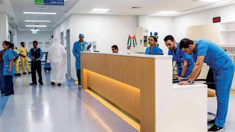 مستشفيات الفجيرة استقبلت 799 ألفاً و25 حالة العام الماضي.  أرشيفية