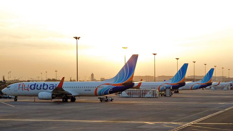 «فلاي دبي» نقلت 3.2 ملايين مسافر خلال 2020.   من المصدر