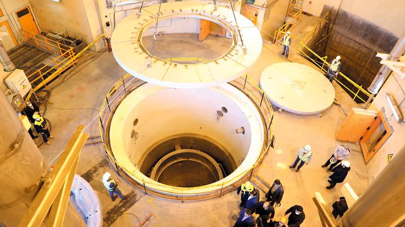 مفاعل آراك الإيراني.. انتهكت طهران شروط الاتفاقية عندما قامت بخطوات كبيرة في إتقان تقنية تخصيب اليورانيوم.   رويترز