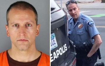 الصورة: بعد إدانته بقتل جورج فلويد.. الضابط الأميركي تشوفين يطلب محاكمة جديدة