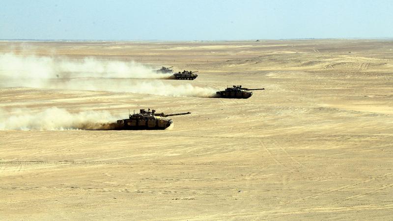 الذكرى الـ45 لتوحيد القوات المسلحة عزيزة على قلوب الإماراتيين. أرشيفية