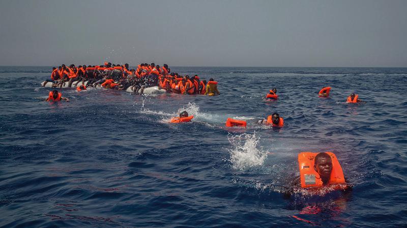 معظم المهاجرين يفدون من دول الساحل الإفريقي. أرشيفية