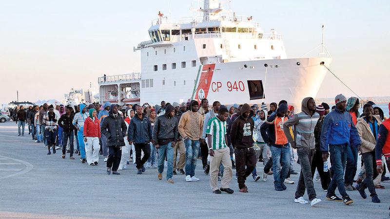 إيطاليا أبقت موانئها مفتوحة أثناء الجائحة.  غيتي