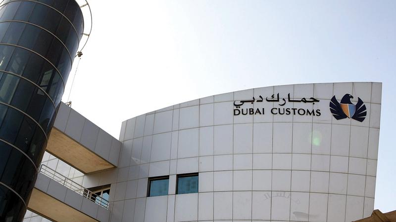 جمارك دبي تولي اهتماماً كبيراً بحماية حقوق الملكية الفكرية. أرشيفية