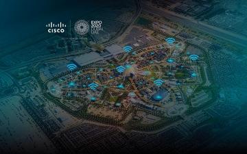 الصورة: توصيل شبكات «واي فاي» عالية السرعة في موقع «إكسبو 2020 دبي»