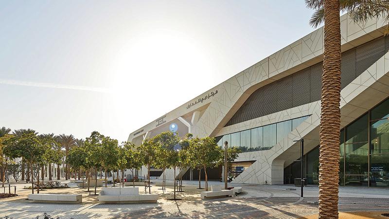 مركز دبي للمعارض الجديد، سيكون وجهة مميزة أثناء فعاليات الحدث الدولي وفي مرحلة الإرث. من المصدر