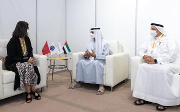 الصورة: نهيان بن مبارك: «إكسبو 2020 دبي» يستهدف بناء عالم أفضل للأجيال المقبلة