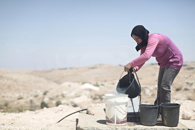 الأردن يعاني نقصاً حاداً في مياه الشرب. أرشيفية