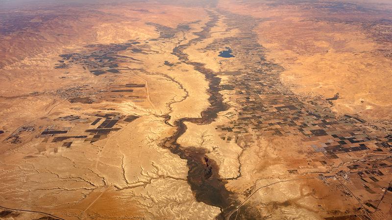 رقعة التصحر في الأردن تتزايد.  أرشيفية