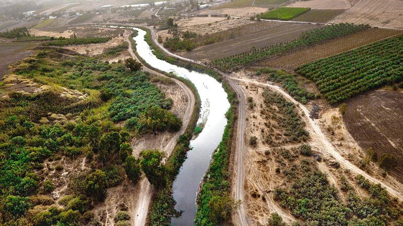 مياه نهر الأردن تتناقص ولم تعد تكفي لتلبية الحاجات المتزايدة من المياه.  أرشيفية