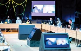 الصورة: لجنة تسيير «إكسبو 2020» تحث المشاركين الرسميين على الانضمام إلى حملة «دبي للتطعيم المجاني»