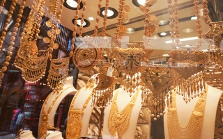 الصورة: اقتراب عيد الفطر يحفز الطلب على مبيعات المشغولات