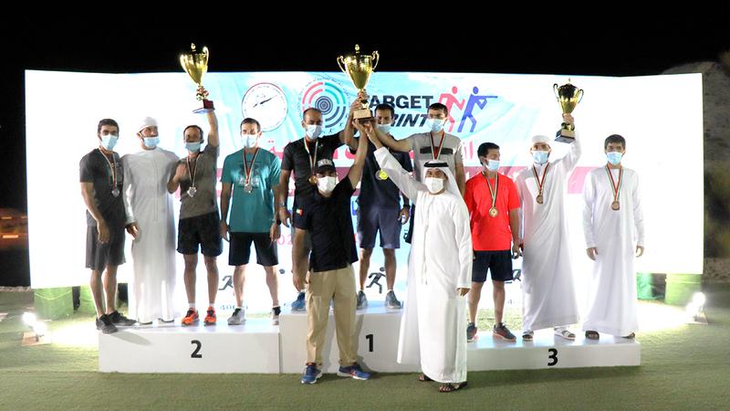 صورة فريق الإمارات يهيمن على ميداليات بطولة «التارجت سبرنت» للرماية – رياضة – محلية