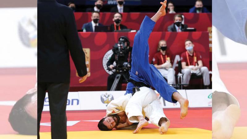 صورة «جودو الإمارات» يتوج ببرونزية بطولة «كازان غراند سلام» – رياضة – محلية