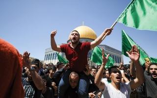 الصورة: عمليات الإخلاء في القدس الشرقية قد ترقى إلى «جرائم حرب»