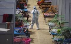 """الصورة: الهند تسجل أكثر من 43 ألف إصابة جديدة بـ """"كورونا"""""""
